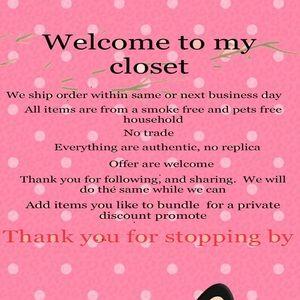 Welcome to my closet ( Michael Kors Coach  Nike..)